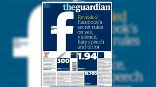 Revelan como Facebook modera los contenidos sobre violencia, terrorismo y pornografía