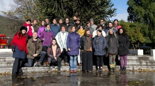El Fondo Nacional de las Artes evaluó propuestas de artistas emergentes de la Patagonia