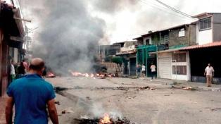 Quemaron la casa natal de Hugo Chávez en medio de una ola de saqueos y violencia en el estado Barinas