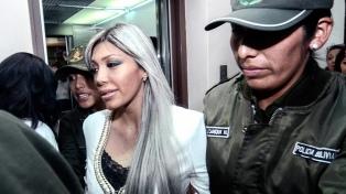 Condenan a 10 años de prisión a la ex pareja de Evo Morales