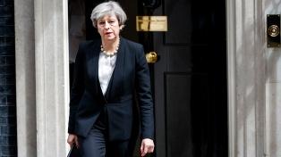 May afirmó que el atentado en Londres es un ataque contra el mundo democrático