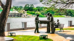 El barrio Pampulha, gran obra del arquitecto Niemeyer, devino en atractivo turístico de Belo Horizonte