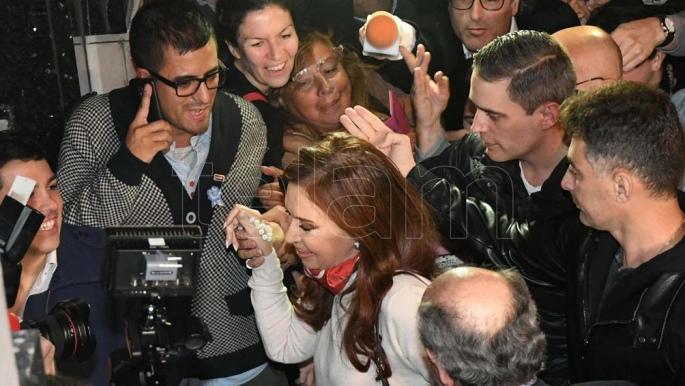 Cristina Si es necesario que yo sea candidata para sacar más votos lo soy