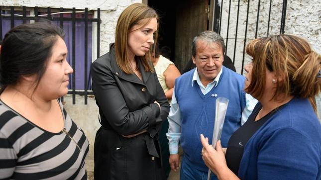 Vidal visitó La Matanza con