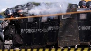 Temer ordenó por decreto la intervención de tropas federales para reprimir las protestas en Brasilia