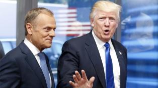 Más desacuerdos que coincidencias en la primera reunión de Trump y la UE