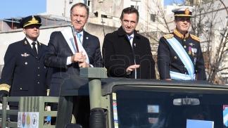 Juan Schiaretti y el intedente de la Capial, Ramon Mestre