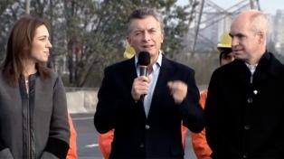 El presidente Macri y la gobernadora Vidal inauguran las obras de refundación de la República de los Niños