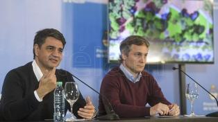 De Andreis y Jorge Macri informaron sobre las reformas a realizar en la Residencia de Olivos