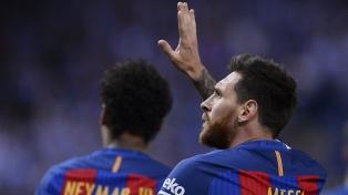 Con un gol de Messi, Barcelona se llevó la Copa del Rey