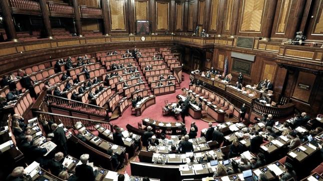 Resultado de imagen de camara gobierno italia