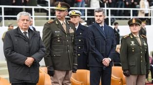 Marcos Peña encabezó el acto central por el Día del Ejército