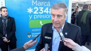 Oscar Aguad remarcó la importancia del registro de los celulares para desalentar el robo