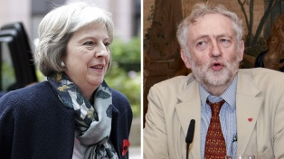 May defiende su gobierno y ataca al líder de la oposición Jeremy Corbyn