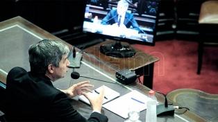 Peña presenta el informe de gestión de gobierno en Diputados