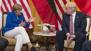 """Merkel calificó de """"deprimente"""" la actitud de Trump ante el comunicado del G7"""