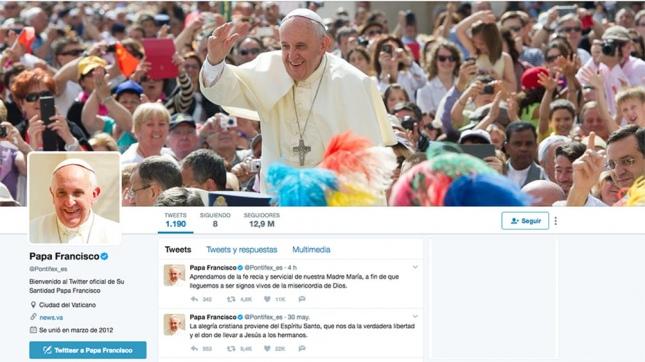 Papa Francisco y Donald Trump, los líderes mundiales más seguidos en Twitter