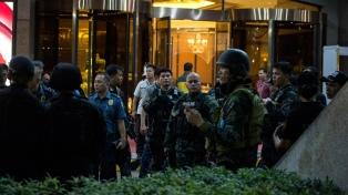 Un ataque armado a un hotel de Manila causa pánico y genera confusión