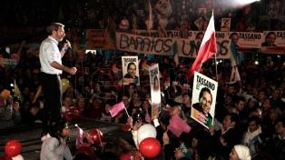 """Frigerio llamó a """"consolidar el cambio"""" durante los comicios del domingo próximo en cuatro provincias"""