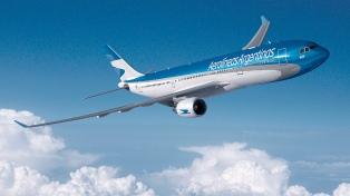 Aerolíneas Argentinas transportó en lo que va del año un 21% más de pasajeros que el año pasado