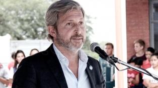 """Frigerio: """"Hay que dejar atrás para siempre la asociación entre la obra pública y la corrupción"""""""