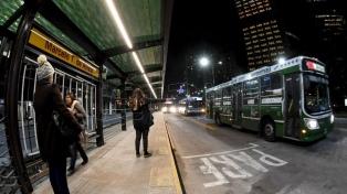 Los aumentos en las tarifas de transporte regirán desde el 1 de febrero