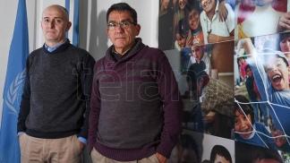 Sebastián Waisgrais (Izq.) y Jorge Paz