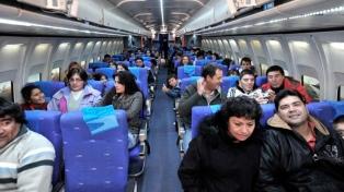 Creció un 18% durante mayo la cantidad de pasajeros en vuelos domésticos
