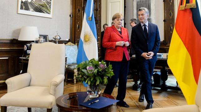 Para Macri la visita de Merkel fue