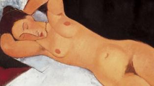 Facebook eliminó un video con un desnudo del pintor Modigliani publicado por un museo suizo