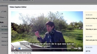 Facebook Live permite escribir subtítulos para videos en directo