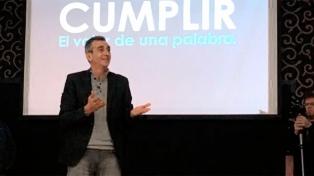 """Randazzo lanzó """"Cumplir"""", su línea interna para competir en las PASO"""