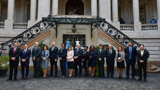 Patricia Bullrich pidió a sus pares del Mercosur unirse contra los femicidios