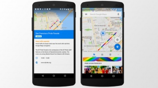Google Maps mostrará con los colores del arcoíris las rutas de los desfiles por el Día del Orgullo Gay