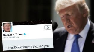 Donald Trump bloqueó a los que lo critican por Twitter