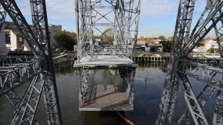 Tras 60 años de inactividad, volverá a funcionar el Puente Transbordador de La Boca