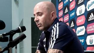 Sampaoli rescató la intensidad con la que jugó Argentina