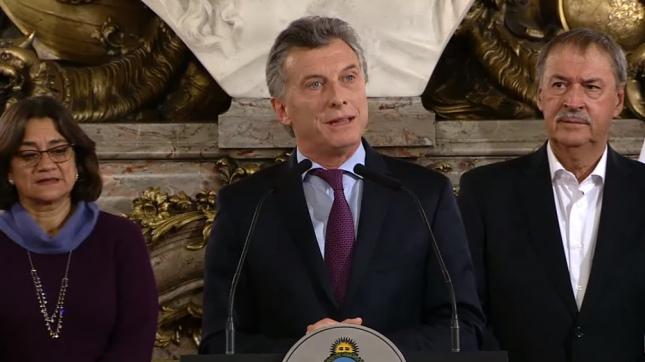 """Resultado de imagen para Mauricio Macri presentó este martes el """"Acuerdo Federal Minero"""