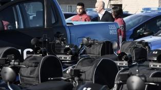 Larreta entregó patrulleros, motos y bicicletas con nueva tecnología para la Policía de la Ciudad