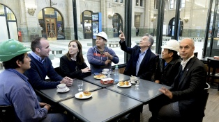 Más de 60.000 pasajeros ya disfrutan de la renovada estación de trenes de Retiro