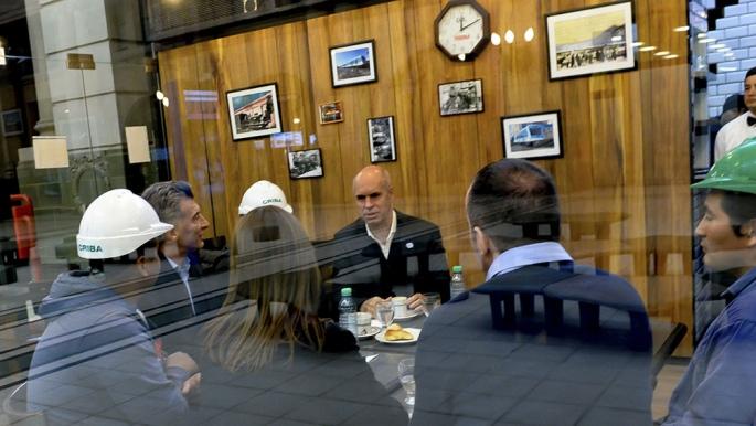 Macri visitó la renovada estación de Retiro — Fuera de agenda
