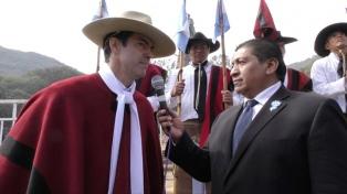"""Urtubey: """"Güemes fue fundamental en la constitución de lo que hoy es Argentina"""""""