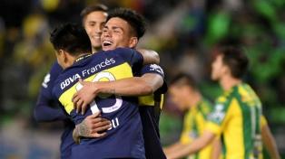 Boca goleó 4 a 0 a Aldosivi en Mar del Plata y ya se siente campeón