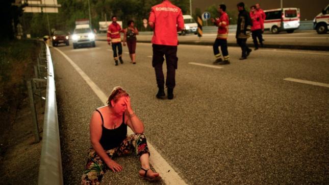 Incendio forestal en Portugal mata a al menos 60 personas