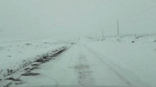 La Patagonia argentina, afectada por fuertes nevadas