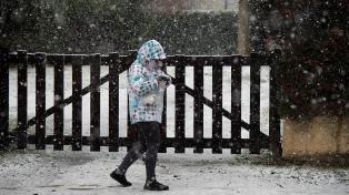 Alerta por bajas temperaturas en la Patagonia