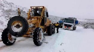 El temporal de nieve en la Patagonia deja sin gas a varias localidades de Santa Cruz