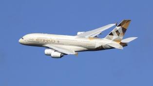 La ANAC aprobó la modificación del acuerdo de código compartido entre Aerolíneas Etihad Airways