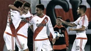 River ganó y quedó a un paso de la clasificación a la Libertadores 2018