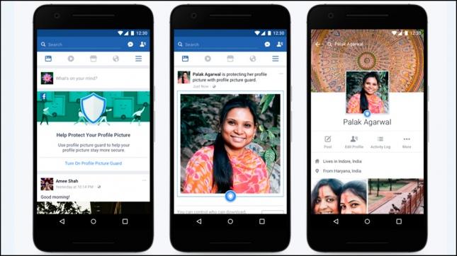 Facebook tomó medidas para impedir que se copien las fotos de perfil